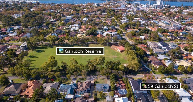 aerial 1 - garloch reserve